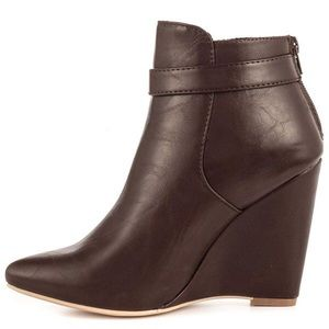 Just Fab Wedge Boots